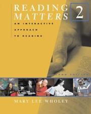 Cover of: Reading Matters 2