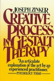 Cover of: Creative process in Gestalt therapy