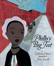 Cover of: Phillis's Big Test