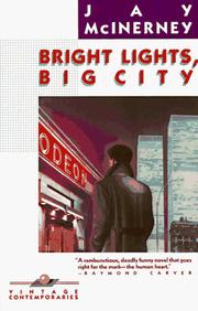 Cover of: Bright lights, big city | Jay McInerney