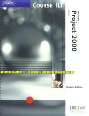 Cover of: Course ILT: Microsoft Project 2000 | Course Technology