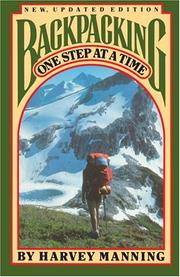 Cover of: Backpacking, one step at a time