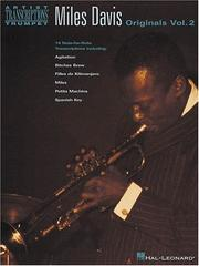 Cover of: Miles Davis - Originals Vol. 2