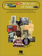Cover of: 360. More 100 Years of Song | Hal Leonard Corp.