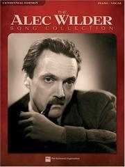 Cover of: The Alec Wilder Song Collection (Piano/Vocal/Guitar)