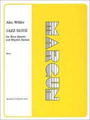 Cover of: Jazz Suite for Horn Quartet and Rhythm Section