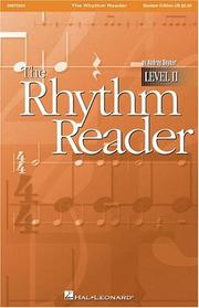 Cover of: The Rhythm Reader, Level II | Audrey Snyder