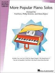Cover of: More Popular Piano Solos - Level 2 | Phillip Keveren