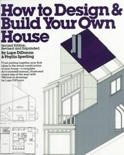 Cover of: How to design & build your own house