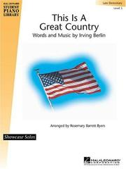 Cover of: This is a Great Country