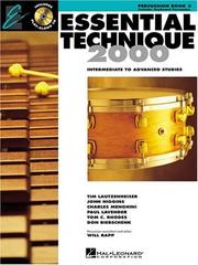 Cover of: Essential Technique 2000 | Various