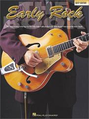 Cover of: The Early Rock Book | Hal Leonard Corp.