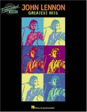 Cover of: John Lennon - Greatest Hits
