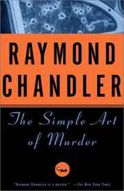 Cover of: The  simple art of murder
