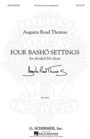 Cover of: Four Basho Settings