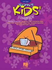 Cover of: Today's Kids' Songbook | Hal Leonard Corp.
