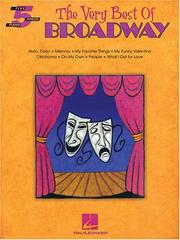 Cover of: The Very Best of Broadway | Hal Leonard Corp.