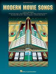 Cover of: Modern Movie Songs | Hal Leonard Corp.