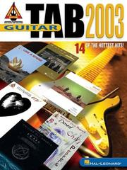 Cover of: Guitar Tab 2003 | Hal Leonard Corp.