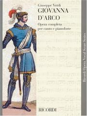 Cover of: Giovanna d'Arco: dramma lirico