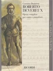 Cover of: Roberto Devereaux