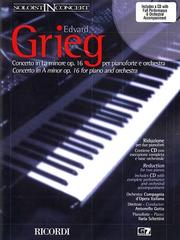 Cover of: Grieg - Concerto in A Minor, Op. 16