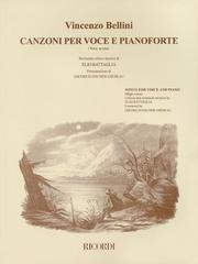 Cover of: Vincenzo Bellini - Canzoni Per Voce | Vincenzo Bellini