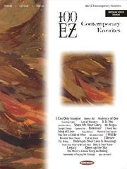 Cover of: 100 EZ Contemporary Favorites | Hal Leonard Corp.