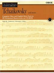 Cover of: Tchaikovsky and More: The Orchestra Musician's CD-ROM Library Vol. IV