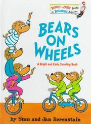 Cover of: Bears on Wheels (Bright & Early Books(R))