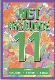 Cover of: Net Wiskunde (Mathematics: Just Maths / Net Wiskunde)