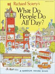 Cover of: Richard Scarry's what do people do all day?