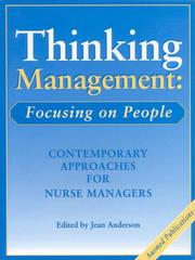 Cover of: Thinking Management