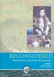 Cover of: The Mediterranean Reconsidered |