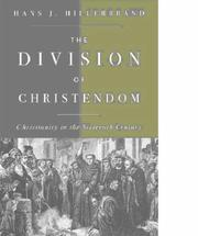 Cover of: The Division of Christendom