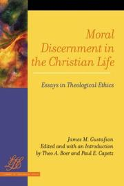 Cover of: Moral Discernment in the Christian Life