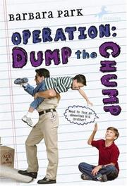 Cover of: Operation: Dump the Chump