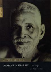 Cover of: Ramana Maharshi: the sage of Arunachala