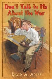 Cover of: Don't Talk to me about the War
