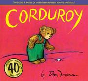 Cover of: Corduroy 40th Anniversary Edition