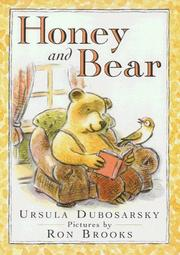 Cover of: Honey and Bear