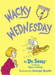 Cover of: Wacky Wednesday (Beginner Books(R)) | Dr. Seuss