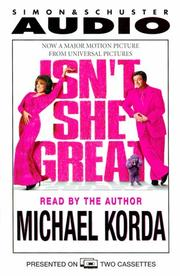 Cover of: Isn't She Great?