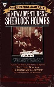 Cover of: The New Adventures of Sherlock Holmes - Volume 17 | Anthony Boucher
