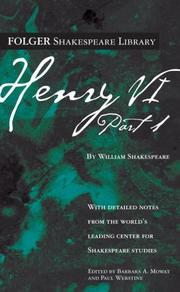 Cover of: Henry VI Part I