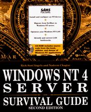 Cover of: Windows Nt 4 Server Survival Guide | Rick Sant