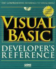 Visual Basic Developers Reference