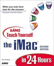 Cover of: Sams teach yourself the iMac in 24 hours