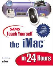 Cover of: Sams Teach Yourself iMac in 24 Hours