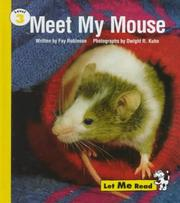 Cover of: Meet my mouse: Level 3 (Let Me Read Series)